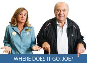 Where Does it go, Joe? tool