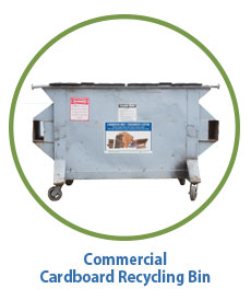 Marin Sanitary Commercial Cardboard Recycling Bin