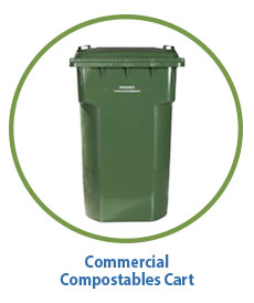 Commercial Compostables Cart