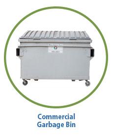 Marin Sanitary Commercial Garbage Bin