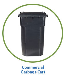 Marin Sanitary Commercial Garbage Cart