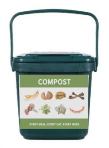 Marin Kitchen Compost Pail