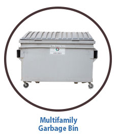 Marin Sanitary Multifamily Garbage Bin