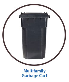 Marin Sanitary Multifamily Garbage Cart