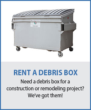Marin Debris Box Rental