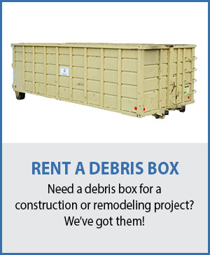 Marin Contractor Debris Box Rental