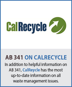 California CalRecycle AB 341 Information