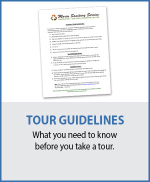 Marin Sanitary Tour Guidelines