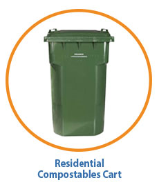 Marin Residential Compostables Cart