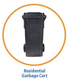 Marin Sanitary Residential Garbage Cart