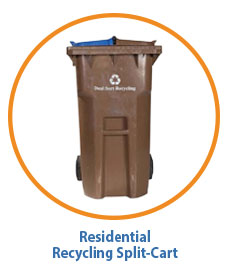 Marin Residential Split-Cart Recycling
