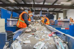 Marin Sanitary Recycling Sort Line