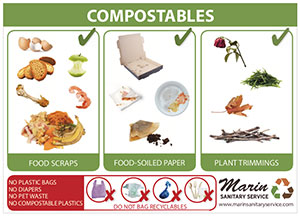 Marin Sanitary Compostables 5x7 Poster Thumbnail