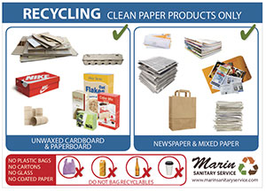 Marin Sanitary Paper Recycling 5x7 Poster Thumbnail