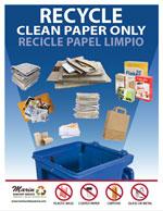 Marin Sanitary Paper Recycling Poster Thumbnail