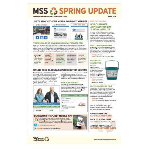 Marin Sanitary Spring 2019 Newsletter