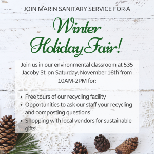 Marin Sanitary Holiday Fair