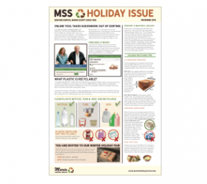 MSS Holiday Newsletter Thumbnail