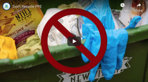 EPA PPE Disposal Recommendations