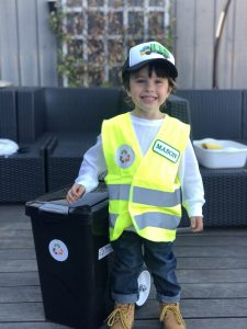 Mason Honorary Garbage Man