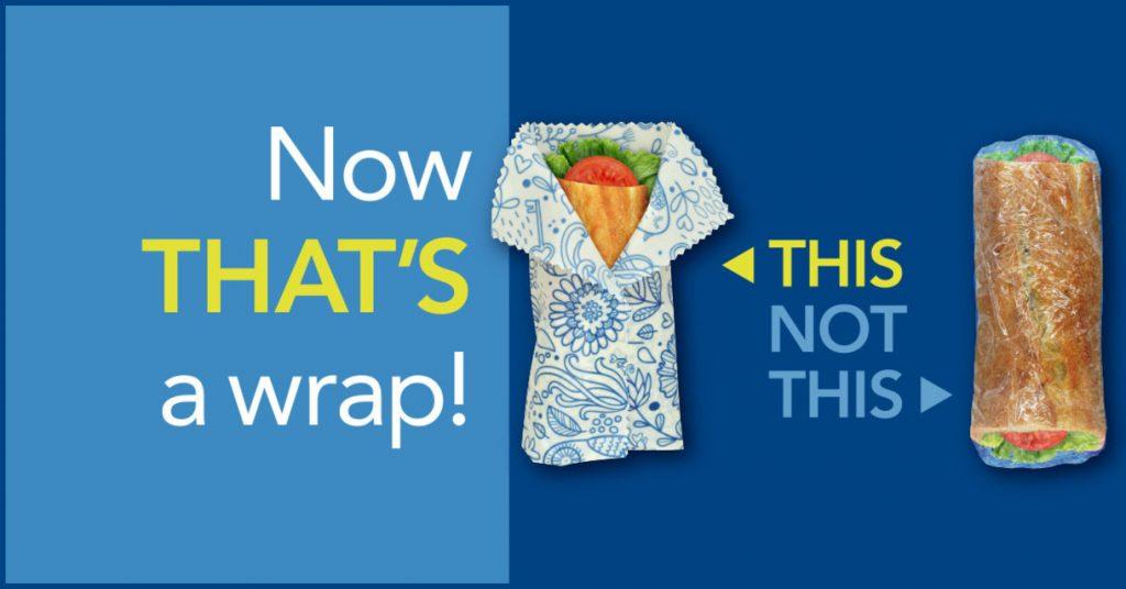 Ditch the plastic wrap