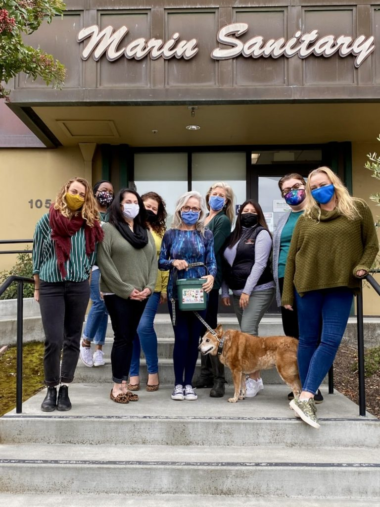 Marin Sanitary Earth Day Crew