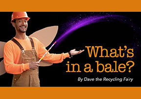 What's in a Bale? Recycling Video