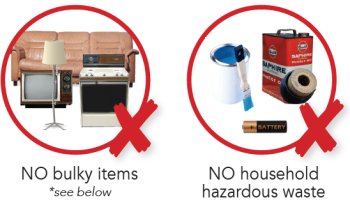 residential cleanup not accepted